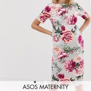 Asos Maternity wiggle mid dress (8)